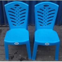 Dari Kursi Plastik Sandaran Napolly Kode 209 Warna Biru Muda 2