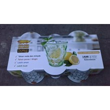 Gelas Kristal plastik 245 ml kode 854 merk golden dragon melamine
