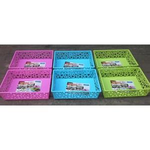 Dari produk rumah tangga Basket plastik segi serbaguna verona merk Lucky Star kode 450 4
