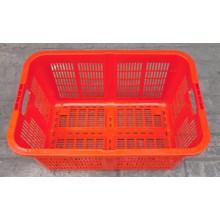 keranjang plastik keranjang industri krat plastik kode a002 merk TOP warna merah