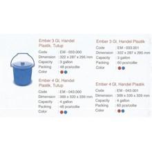 produk plastik rumah tangga Timba Ember 3 galon dan 4 galon plastik merk TMS