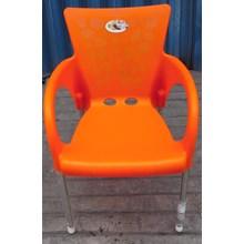 Kursi Plastik Neoplast Warna Orange Stabillo