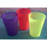 gelas plastik keyko 2002 dan tipe cherry 2101 produk lemony Murah 5