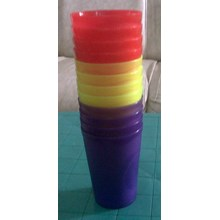 gelas plastik keyko 2002 dan tipe cherry 2101 produk lemony
