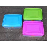 Jual produk plastik rumah tangga Tepak segi plastik kode 1137 produk ASA plast 2