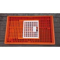 Jual produk plastik pertanian Kandang keranjang ayam plastik besar kuat tebal kode 9606 merk Rabbit 2
