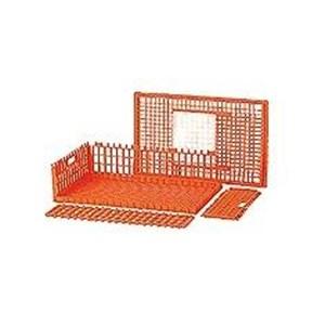produk plastik pertanian Kandang keranjang ayam plastik besar kuat tebal kode 9606 merk Rabbit