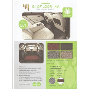 produk plastikl otomotif Keset karpet lantai PVC BioFloor 3A dan 4A Food Grade Quality produk Master