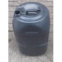 Distributor penympanan bahan kimia Jerigen plastik isi 30 liter warna Abu abu merk AG 3