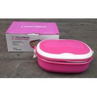 peralatan makan lainnya tempat makan Lunch box ESA kombinasi plastik dan Stainless bentuk oval  Murah 5