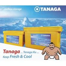 box pendingin Box penyimpanan Coolbox plastik serbaguna merk Tanaga