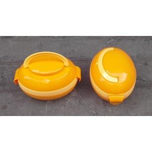 produk plastik rumah tangga Rantang anak plastik oval orange kode RAO 9002 merk golden sunkist