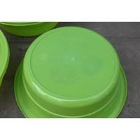 Jual Baskom plastik bulat no 13 violet merk clarita warna hijau 2
