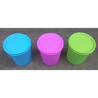 Gelas Plastik tutup warna warni kode 219 merk ASA