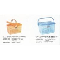 Keranjang Plastik piknik RIO BK077 dan BK100 produk Maspion 1