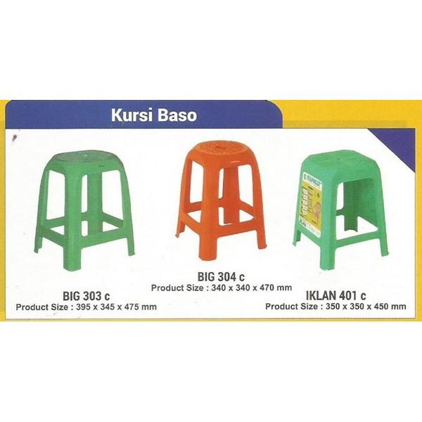 Katalog Kursi Plastik baso merk Napolly kode 303 harga murah