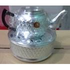 peralatan makan lainnya Teko ceret almini dengan motif batik arab acara selamatan haji 4
