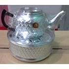 peralatan makan lainnya Teko ceret almini dengan motif batik arab acara selamatan haji 3