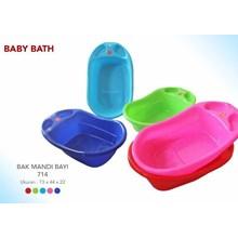 produk plastik rumah tangga bak mandi bayi kode 714 merk Gajah plast
