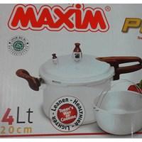 Panci Presto cooker 4 liter 20 cm merk Maxim