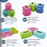 Distributor alat dapur lainnya Beberapa bentuk tempat Tissue plastik Lucky Star 3