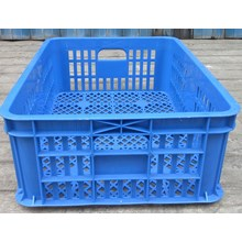 keranjang plastik multiguna lubang TOP kode B003 ukuran 62 x 42 x tinggi 20 cm biru