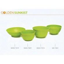 produk plastik rumah tangga Mangkok mie plastik bulat golden Sunkist MKM 7010 hijau