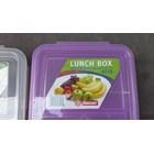 Kotak Makan tepak makan sekat atau lunch box 0718 merk DianSari plast 4