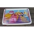 Meja plastik lesehan untuk anak usia 3 tahun keatas motif princess merk Napolly 6