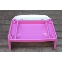 Beli Meja plastik lesehan untuk anak usia 3 tahun keatas motif princess merk Napolly 4