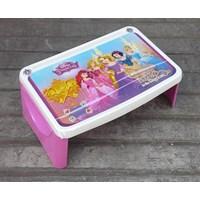 Distributor Meja plastik lesehan untuk anak usia 3 tahun keatas motif princess merk Napolly 3