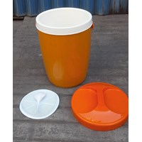 Jual produk plastik rumah tangga Tempat nasi/es batu (Plastic Rice Ice Bucket ) Nadia 30 liter merk Kaisha  2
