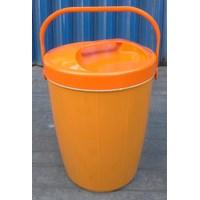 Beli produk plastik rumah tangga Tempat nasi/es batu (Plastic Rice Ice Bucket ) Nadia 30 liter merk Kaisha  4