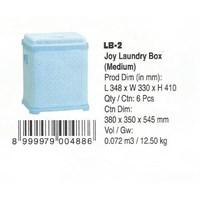 Jual alat laundry lainnya Joy Laundry Box Medium LB2 dan Large LB3 merk Lion Star
