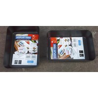 produk plastik rumah tangga Baki Plastik tempat peralatan atau Display Tray Medium 3592 Lucky Star 1