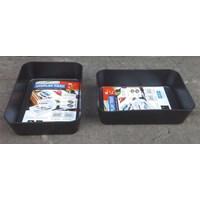 Jual produk plastik rumah tangga Baki Plastik tempat peralatan atau Display Tray Medium 3592 Lucky Star 2