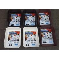 produk plastik rumah tangga Baki Plastik tempat peralatan atau Display Tray Medium 3592 Lucky Star Murah 5