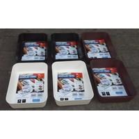 Beli produk plastik rumah tangga Baki Plastik tempat peralatan atau Display Tray Medium 3592 Lucky Star 4