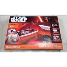 Meja plastik lesehan untuk anak gambar Star wars BB8 merk napoli