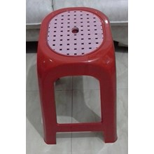 plastic Stool combination 303 TC napoli red