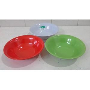Dari mangkok saji Mangkok Sup melamin Soto 7 inch produk SEIV by onyx merah hijau putih 1