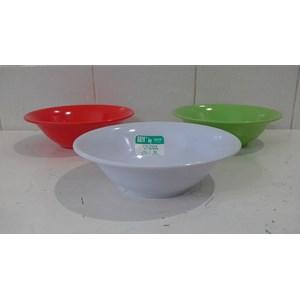 Dari mangkok saji Mangkok Sup melamin Soto 7 inch produk SEIV by onyx merah hijau putih 2