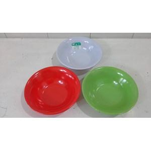 Dari mangkok saji Mangkok Sup melamin Soto 7 inch produk SEIV by onyx merah hijau putih 0