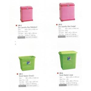alat laundry lainnya keranjang plastik peralatan laundry merk lion star