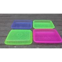 Distributor Nampan segi plastik transparant no 1 merk calista. 3