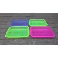Beli Nampan segi plastik transparant no 1 merk calista. 4
