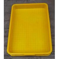 Jual Keranjang plastik buntu b011 merk top p62 L42 tinggi 10 cm kuning 2