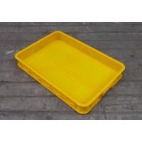 Keranjang plastik buntu b011 merk top p62 L42 tinggi 10 cm kuning 1