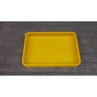 Keranjang plastik buntu b011 merk top p62 L42 tinggi 10 cm kuning Murah 5