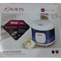 alat dapur lainnya Rice cooker penanak nasi serbaguna kode KRC 388 merk kirin 1